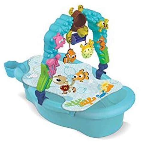 nemo baby bathtub amazon com disney finding nemo newborn to toddler tub