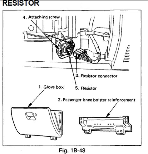 how to test a honda blower motor resistor i 1998 honda passport and the blower motor with not run on any fan speed i checked