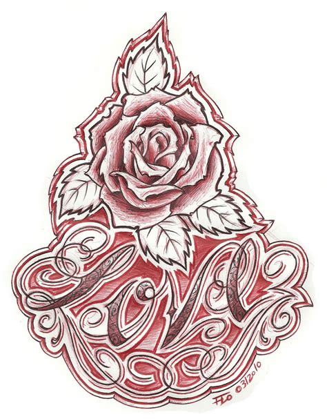 tattoo flash art roses chicano flash chicano flash pic 22