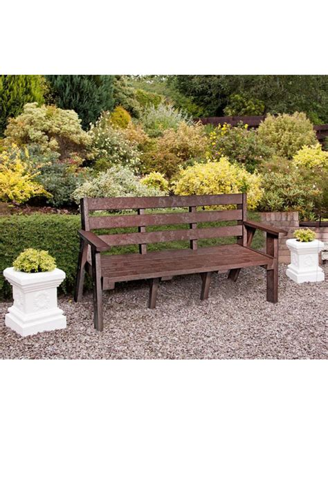 benches made from recycled plastic sloper bench made from recycled plastic advancedscape
