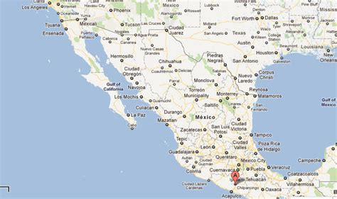 map of western mexico 6 8 earthquake shakes western mexico nbc southern california