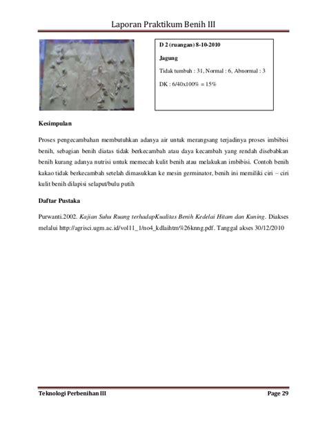 Benih Jagung Dk makalah 57 makalah laporan praktikum