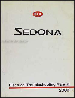 electric and cars manual 2002 kia sedona parental controls 2002 kia sedona electrical troubleshooting manual original