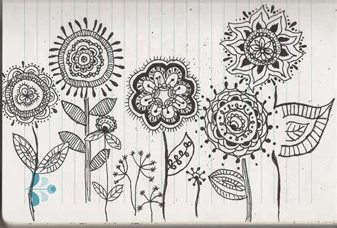 Flower Garden Drawings Simply Stoked A Peek At My Sketchbook