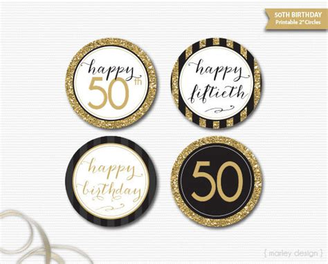 printable 50th birthday party decorations 9 birthday gift tags psd vector eps jpg download