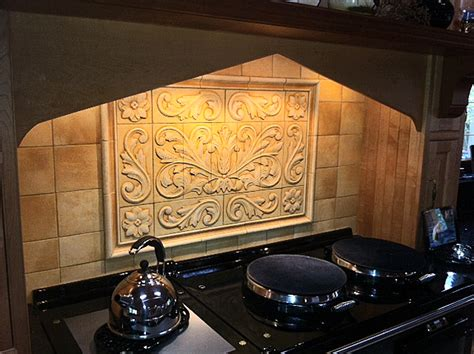 tile medallions for kitchen backsplash tile backsplash medallion tile design ideas