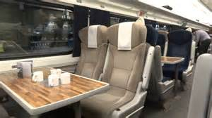 east coast trains class seating to