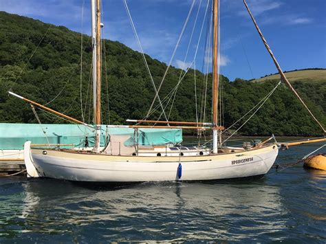 ketch boat 1960 classic william atkin vilisar ketch sail boat for