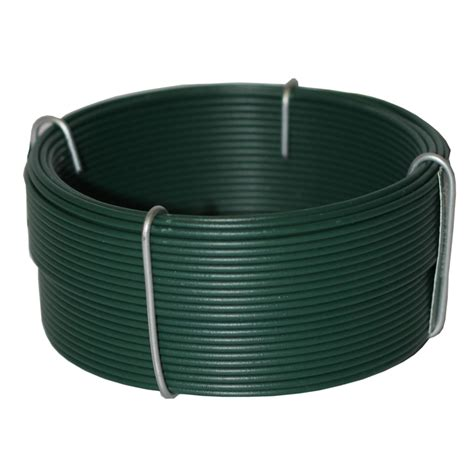 whites 1 60mm x 20m green pvc coated tie wire bunnings