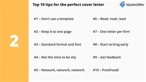 consulting cover letter writing tips template