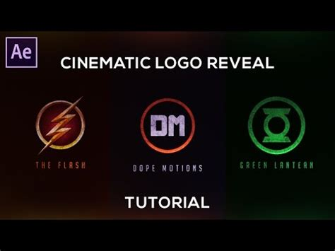 tutorial logo reveal after effects after effects paint stroke logo reveal animation