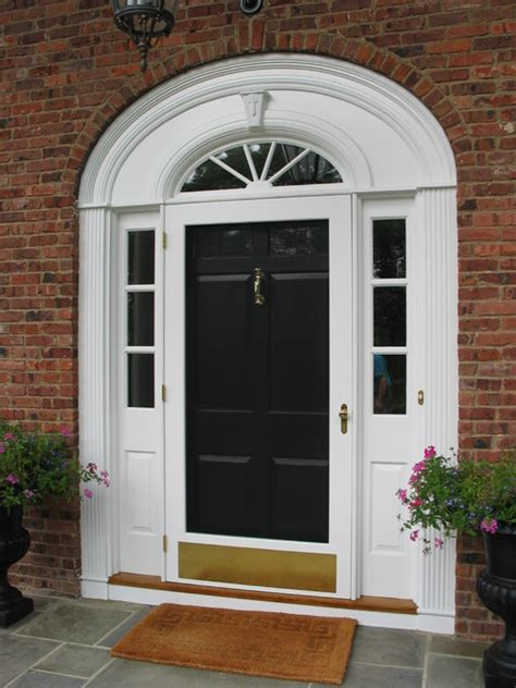 Historic Replacement Of Entry Doors Traditional Entry Traditional Exterior Doors