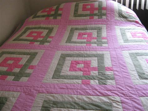 Breast Cancer Quilt by Breast Cancer Awareness Quilt All Finished