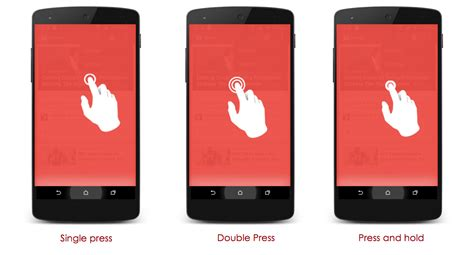 android gestures touch feedback and gestures in android stacktips