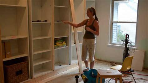 smart girls diy turning ikea shelves  built ins