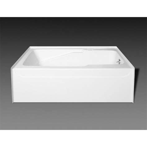 oasis bathtub oasis ba r 51r wht at elegant designs three wall alcove