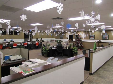 show me christmas decorations for an office modern office decorations dockery