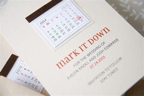 Wedding Card Design Calendar by Unique Wedding Save The Dates Calendar Design Invitations
