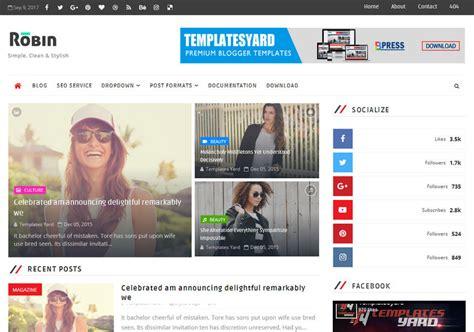 robin blog blogger template blogspot templates 2018 gt gt 22