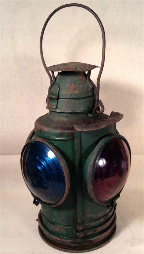 antique railroad lights for sale antique vintage handland railroad lantern st louis 4