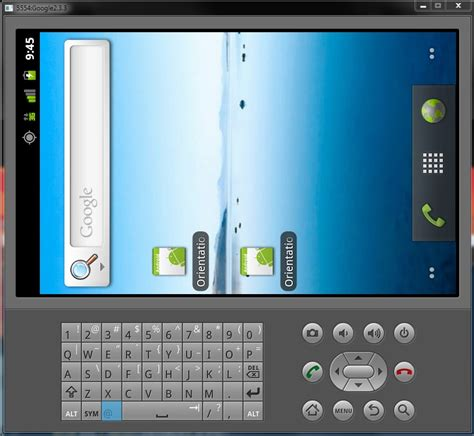 different layout for landscape mode android android emulator in landscape mode screen does not