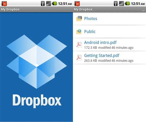 dropbox app 5 ways to do things faster on your galaxy mytrendyphone blog