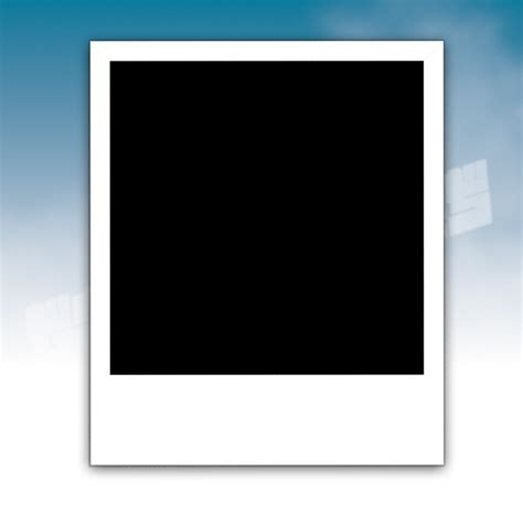 polaroid template free polaroid frame clipart best