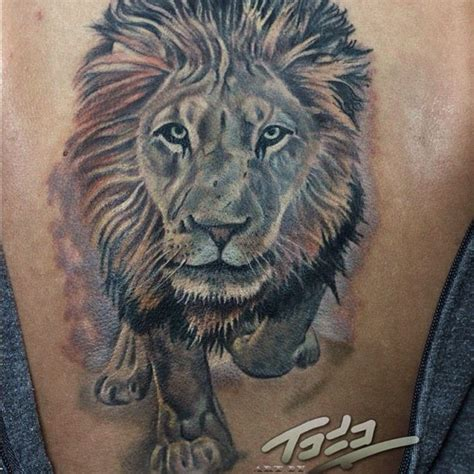 Christian Johansson Tattoo | nice lion christian johansson fusion inks tattoos and