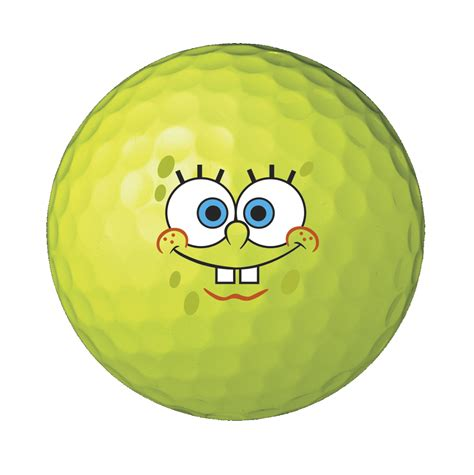 spongebob square pants 6pk golf balls discount prices