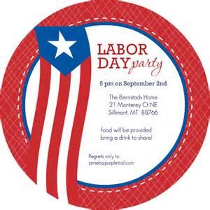 labor day invitations flag labor day white and blue