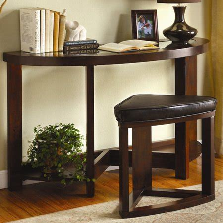 sofa tables with stools hokku designs cristel console table and stool set