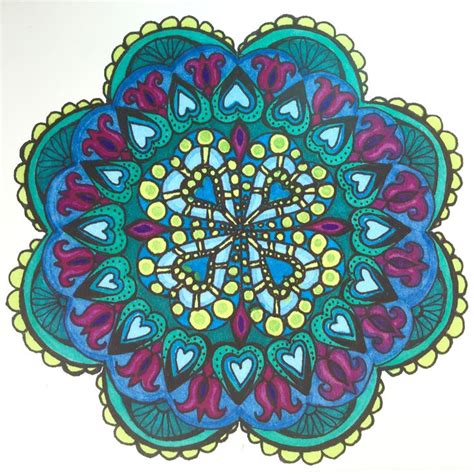 mandala coloring book with markers 17 best images about mandalas on mandala