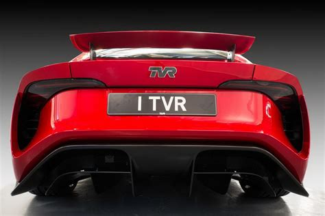 tvr return tvr returns with new chested griffith 500hp v8