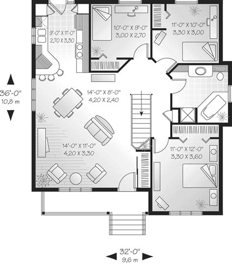 cozy cottage floor plans marymere cozy cottage home plan 032d 0066 house plans and more