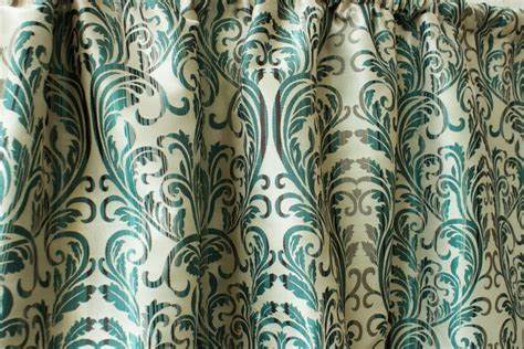 teal damask curtains teal silk damask curtain panels 50 beige gold red by