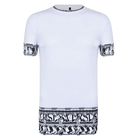 Versus Versace Border Pattern T Shirt | versus versace border pattern t shirt shopstyle co uk