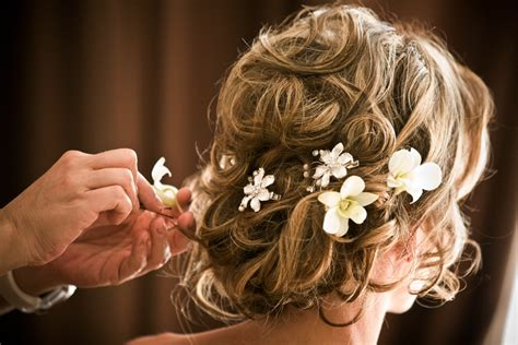 Wedding Hair With Flowers by Wedding Hair Flower Accessories