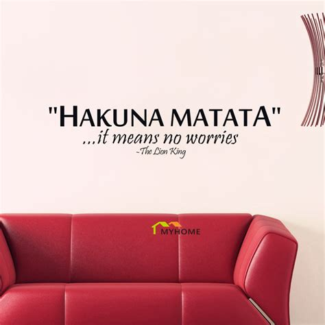 the king quotes hakuna matata it means no worries