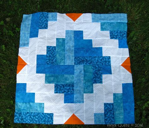 One Block Quilt by Anja Quilts Finish Along 2016 Q3 Goals