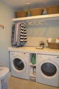 Laundry Room Decorating Ideas Pinterest by Small Laundry Room Design Ideas 18 1 Kindesign