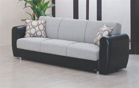 Sleeper Sofa Houston Houston Sofa Bed In Grey Fabric By Empire W Options