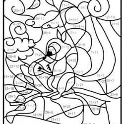 Coloriages Magiques Ce1 Ce2 Coloriage Magique Gratuit Coloriage Magique Multiplication L