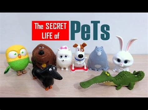 Happy Meal Mcdonald The Secret Of Pets mcdonald s happy meal toys the secret of pets