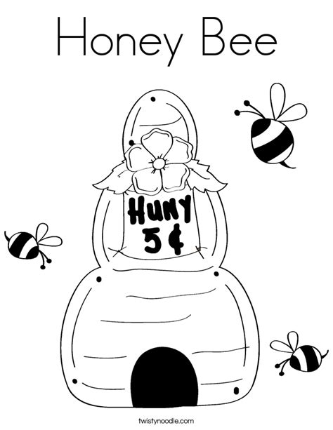 coloring pages of honey bees az coloring pages