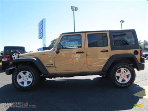 dune jeep 2014 jeep wrangler unlimited sport 4x4 in dune photo 4