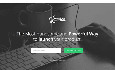 bootstrap landing page template free a collection of free bootstrap 3 templates