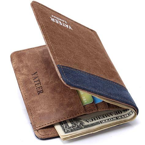 2015 fashion men s wallets denim canvas thin men s small