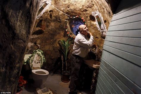 digging an underground room costa rica spends 12 years digging a home 63ft underground for his family daily mail