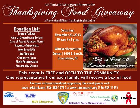 Nutrition Giveaways - free thanksgiving food giveaway 100 images 1 1 jennie o coupon rebates free