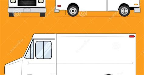 food truck layout template food truck blank stock image image 28062571 proyectos